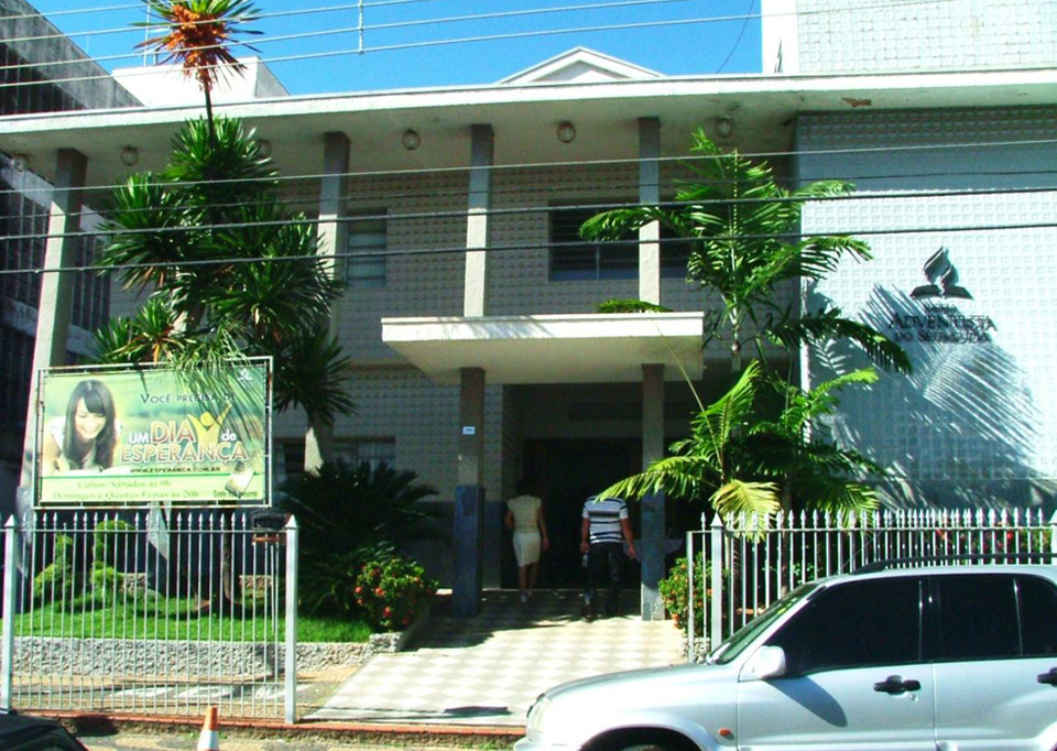 Igreja Adventista do Sétimo Dia Central Votuporanga - fachada antiga